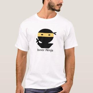 内部の忍者 Tシャツ