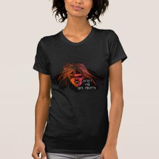 内部の暗闇彼女の物 Tシャツ
