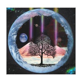 内部の真実生命の樹 キャンバスプリント