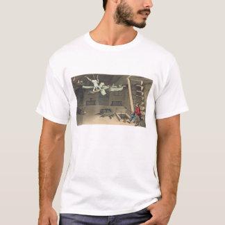 内部回りますおよび再度、「出現からのプレート Tシャツ