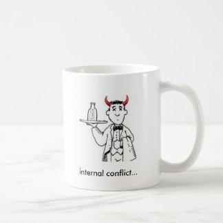 内部対立 コーヒーマグカップ
