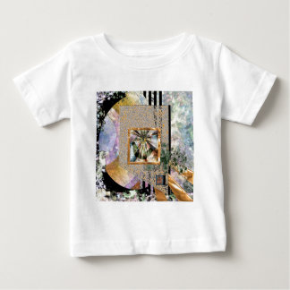 内部驚異による新星のヒスイ(正方形) ベビーTシャツ