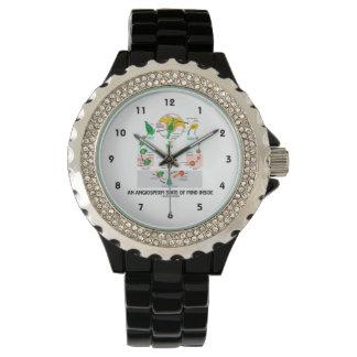 内部(花)被子植物の精神状態 腕時計
