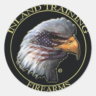 内陸の火器訓練のロゴプロダクト ラウンドシール