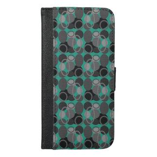 円および楕円形のiphoneのウォレットケース iPhone 6/6s plus ウォレットケース