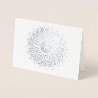 円としてすばらしいオウムガイ 箔カード