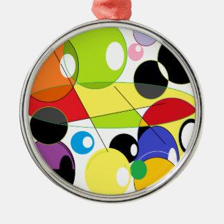 円のスタイル メタルオーナメント