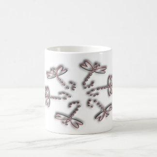 円のトンボ コーヒーマグカップ