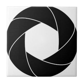 円のリングのデザイン タイル