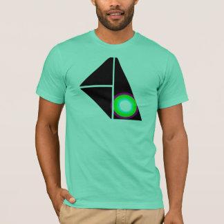 円のロゴ Tシャツ