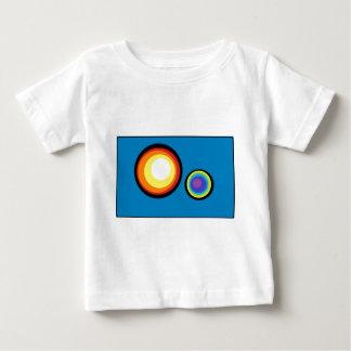 円の世界 ベビーTシャツ