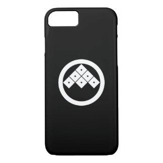 円の傾けられた6 squrae目 iPhone 8/7ケース