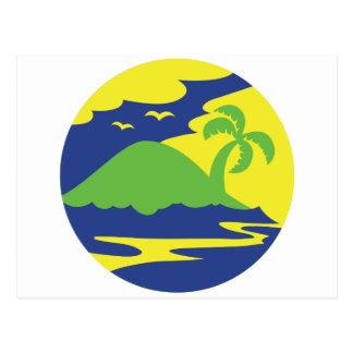 円の島 ポストカード