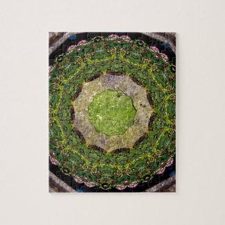 円の庭 ジグソーパズル