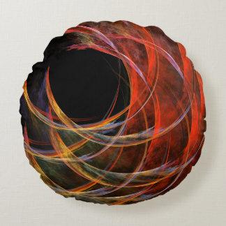 円の抽象美術の円形の枕の破損 ラウンドクッション