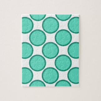 円の点のデザイン ジグソーパズル