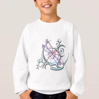 円の種族のトンボ スウェットシャツ