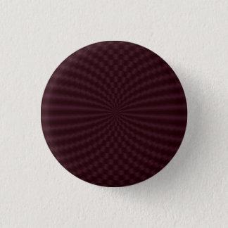 円のPinback深紅の幾何学的なボタン 3.2cm 丸型バッジ