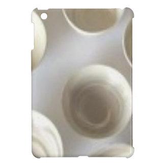 円パターンベージュ色iPad Miniケース iPad Mini カバー