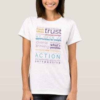 円卓の声明のTシャツ Tシャツ