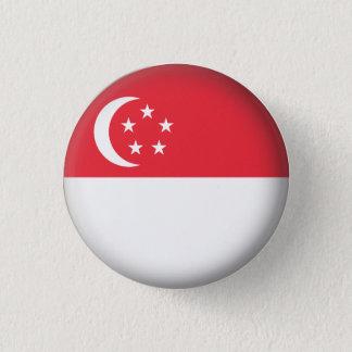 円形のシンガポール 3.2CM 丸型バッジ