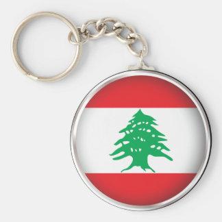 円形のレバノン キーホルダー