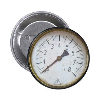 円形の圧力計のメートルのダイヤル 5.7CM 丸型バッジ