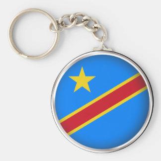 円形の民主党のコンゴ共和国 キーホルダー