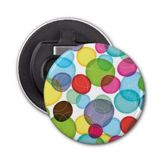 円形の泡子供パターン2 栓抜き