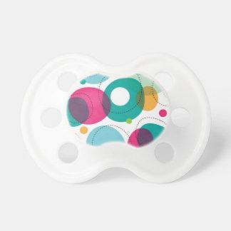 円形の泡子供パターン おしゃぶり