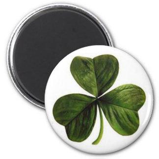 円形の磁石の幸運なシャムロック マグネット