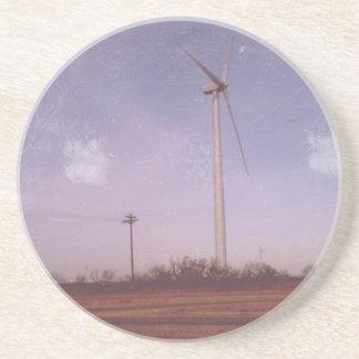 円形の風車のコースター コースター