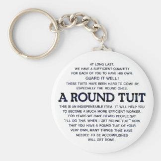 円形のTuit キーホルダー