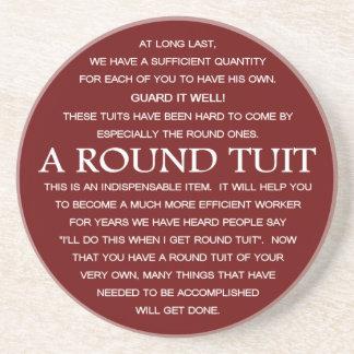 円形のTuit コースター