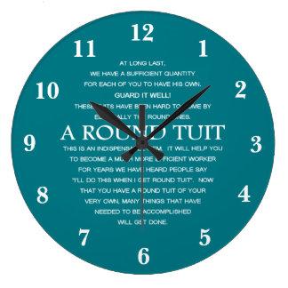 円形のTuit ラージ壁時計
