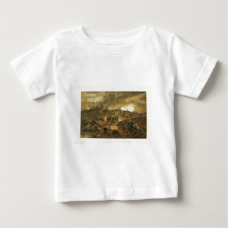 円形タワーの残物とのMalakoffのインテリア ベビーTシャツ