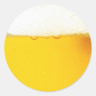 円形ビールステッカー ラウンドシール