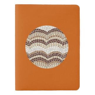 円形ベージュモザイク特大のノート エクストララージMoleskineノートブック