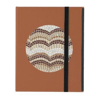 円形ベージュモザイクiPad 2/3/4の箱 iPad ケース
