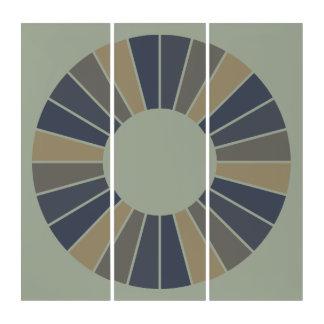 円形光線フレーム12 + あなたのbackgr。 及びアイディア トリプティカ