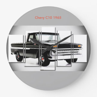 円形大き壁時計のためのクラシックな車のイメージ ラージ壁時計