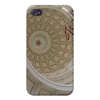 円形建築オースティンのテキサス州州の国会議事堂 iPhone 4/4Sケース