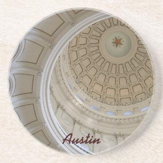 円形建築オースティンのTX州の国会議事堂 コースター
