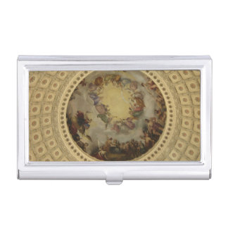円形建築ワシントン州の国会議事堂の神格化 名刺入れ