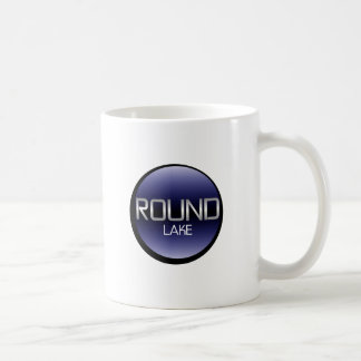 円形湖 コーヒーマグカップ