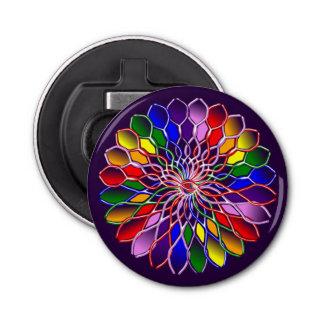 円形虹のFloweret磁気栓抜き 栓抜き