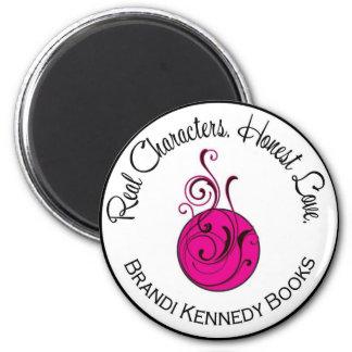 円形Brandiケネディのロゴの磁石 マグネット