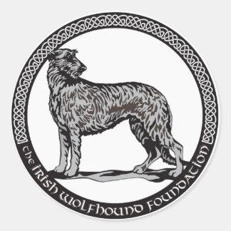 円形IWFのロゴのステッカー ラウンドシール