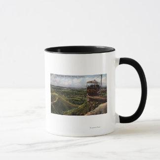 円橋太平洋の鉄道の眺め マグカップ