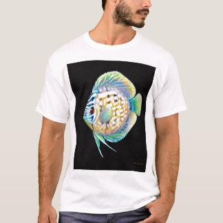 円盤投げのアクアリウムの魚のTシャツ Tシャツ